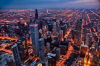 Chicago Twilight Illumination