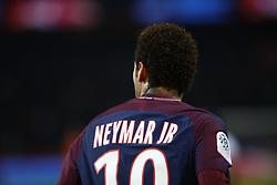 November 29, 2017 - Paris, Ile-de-France, France - Paris Saint-Germain's Brazilian forward Neymar reacts during the French L1 football match between Paris Saint-Germain (PSG) and Troyes at the Parc des Princes stadium in Paris on November 29, 2017. (Credit Image: © Mehdi Taamallah/NurPhoto via ZUMA Press)