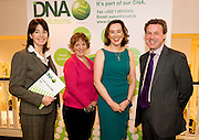 """Ann Keary, HSE , Dervla Geraghty Boston Scientific Elaine Joyce Cima WOI treasurer and Syl Cotter, DNA IT Solutions at the CIMA """"Cloud computing and your business """"    seminar in Hotel Meyrick Galway. Photo:Andrew Downes"""