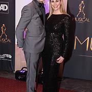 NLD/Scheveningen/20180124 - Musical Award Gala 2018, Alexandra Alphenaar en partner Jaap van Andel