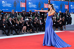"""Marica Pellegrinelli arriving to the premiere of """"Mother"""" as part of the 74th Venice International Film Festival (Mostra) in Venice, Italy on September 5, 2017. Photo by Marco Piovanotto/ABACAPRESS.COM"""