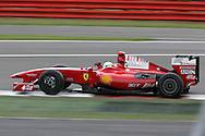 2009 Formula 1 Santander British Grand Prix at Silverstone in Northants, Great Britain. action from Friday practice on 19th June 2009. Felipe Massa of Brazil drives his Ferrari F1 car. ..