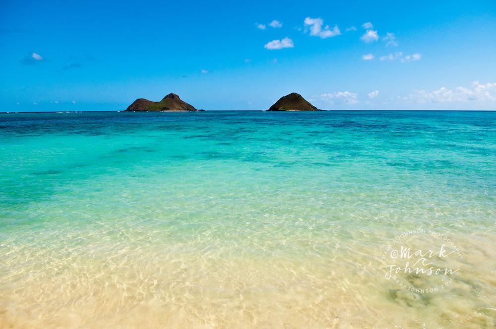 Mokulua Islands, Lanikai, Kailua Bay, Oahu, HI