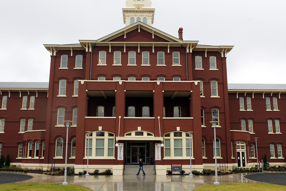 """The Oregon State Hospital in Salem has been home to psychiatric patients for more than a century. The movie """"One Flew Over the Cuckoo's Nest"""" was filmed there, and the new Oregon State Hospital Museum of Mental Health honors the experiences of the patients who have lived there over the decades."""