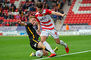 Doncaster Rovers forward John Marquis on the attack during the EFL Sky Bet League 1 match between Doncaster Rovers and Bradford City at the Keepmoat Stadium, Doncaster, England on 22 September 2018.