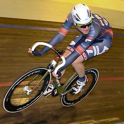 13-12-2015: Wielrennen: NK baanwielrennen: Sloten<br />AMSTERDAM (NED) baanwielrennen   <br />Op het velodrome van Sloten streden de baanwielrenners om de titel op de 50 kilometer. Rick Mensink