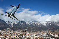 Hopp<br /> World Cup / Verdenscup<br /> Hoppuka<br /> Innsbruck<br /> 03.10.2011<br /> Foto: Gepa/Digitalsport<br /> NORWAY ONLY<br /> <br /> FIS Weltcup, Vierschanzen-Tournee. Bild zeigt Anders Jacobsen (NOR)