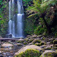 Beauchamp Falls located in the Great Otway National Park.