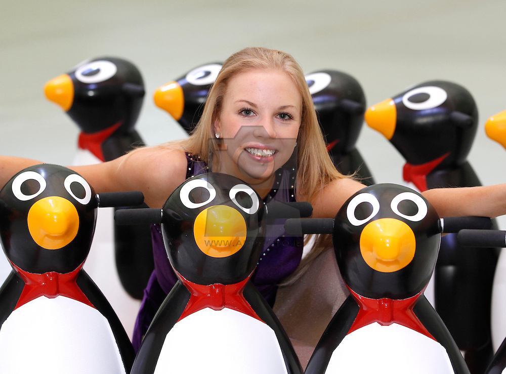 Repro Free: 15/11/2012.Ireland's Largest Christmas Ice-Rink Opens in Dublin.Figure Skater Sarah Dawson is pictured ahead of the opening tomorrow (16 November) of i-Skate@The RDS, the largest rink operating in Ireland this year and will run until January 13th. Pic Andres Poveda.