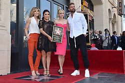 Anna Faris, Felicity Huffman and Ricky Martin attend the ceremony honoring Eva Longoria with a star on the Hollywood Walk of Fame on April 17, 2018 in Los Angeles, California. Photo by Lionel Hahn/ABACAPRESS.COM