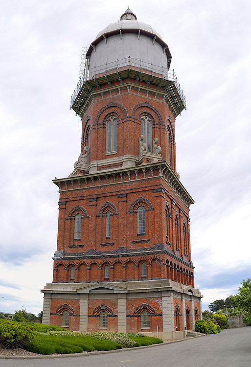 The Invercarill Water Tower, likely Invercargill's most distinctive feature.