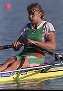 St Catharines, Ontario, CANADA 1999 World Rowing Championships. BLR W1X,  Ekaterina KARSTEN,[Mandatory Credit Peter Spurrier Intersport Images] 1999 FISA. World Rowing Championships, St Catherines, CANADA