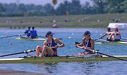 Munich, GERMANY    USA W2-,  1998 FISA World Cup, Munich Olympic Rowing Course, 29-31 May 1998.  [Mandatory Credit, Peter Spurrier/Intersport-images] 1998 FISA World Cup, Munich, GERMANY