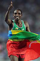 ATHLETICS - IAAF WORLD CHAMPIONSHIPS 2011 - DAEGU (KOR) - DAY 2 - 28/08/2011 - MEN 10 000M FINAL- IBRAHIM JEILAN (ETH) / WINNER - PHOTO : FRANCK FAUGERE / KMSP / DPPI