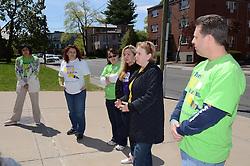 Rosetta Fasulo, Volunteer, Melissa Bartlett, Nina Musumeci (Club Development Specialist), Gilda Roncari (Club VP Development) and Patrick Quirk - Asylum Hill Boys and Girls Club, Hartford CT