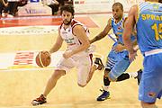 DESCRIZIONE : Pistoia campionato serie A 2013/14 Giorgio Tesi Group Pistoia Vanoli Cremona <br /> GIOCATORE : Guido Meini<br /> CATEGORIA : palleggio penetrazione<br /> SQUADRA : Giorgio Tesi Group Pistoia<br /> EVENTO : Campionato serie A 2013/14<br /> GARA : Giorgio Tesi Group Pistoia Vanoli Cremona <br /> DATA : 10/11/2013<br /> SPORT : Pallacanestro <br /> AUTORE : Agenzia Ciamillo-Castoria/GiulioCiamillo<br /> Galleria : Lega Basket A 2013-2014  <br /> Fotonotizia : Pistoia campionato serie A 2013/14 Giorgio Tesi Group Pistoia Vanoli Cremona<br /> Predefinita :