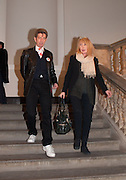 DUGGIE FIELDS; JENNY DEARDON, Mariko Mori opening, Royal Academy Burlington Gardens Gallery. London. 11 December 2012.