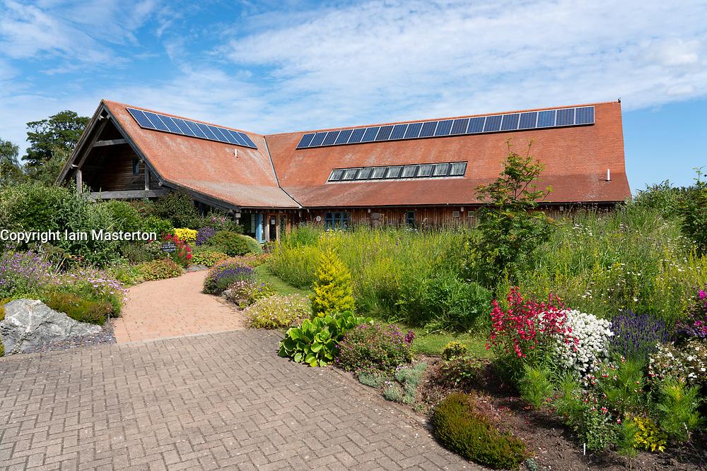 Exterior of Scottish Ornithologists Club ( Scottish Birdwatchers Centre) at Waterston House, Aberlady, East Lothian, Scotland ,UK