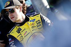 March 2, 2018 - Las Vegas, Nevada, United States of America - March 02, 2018 - Las Vegas, Nevada, USA: Ryan Blaney (12) hangs out on pit road during qualifying for the Pennzoil 400 at Las Vegas Motor Speedway in Las Vegas, Nevada. (Credit Image: © Justin R. Noe Asp Inc/ASP via ZUMA Wire)
