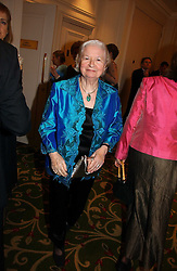 Writer BARONESS JAMES OF HOLLAND PARK at the Costa Book Awards 2006 held at The Grosvenor House Hotel, Park Lane, London W1 on 7th February 2007.<br />