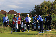 Cole Hammer (USA) on the 6th tee during Day 2 Foursomes of the Walker Cup, Royal Liverpool Golf CLub, Hoylake, Cheshire, England. 08/09/2019.<br /> Picture Thos Caffrey / Golffile.ie<br /> <br /> All photo usage must carry mandatory copyright credit (© Golffile   Thos Caffrey)