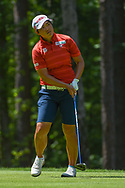 Peiyun Chien (TAI) watches her tee shot on 2 during round 1 of the U.S. Women's Open Championship, Shoal Creek Country Club, at Birmingham, Alabama, USA. 5/31/2018.<br /> Picture: Golffile | Ken Murray<br /> <br /> All photo usage must carry mandatory copyright credit (© Golffile | Ken Murray)