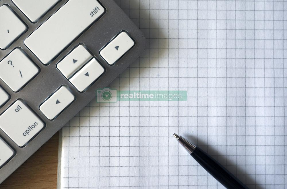 May 20, 2015 - Workplace with notepad and keyboard, mouse. (Credit Image: © Igor Golovniov/ZUMA Wire/ZUMAPRESS.com)