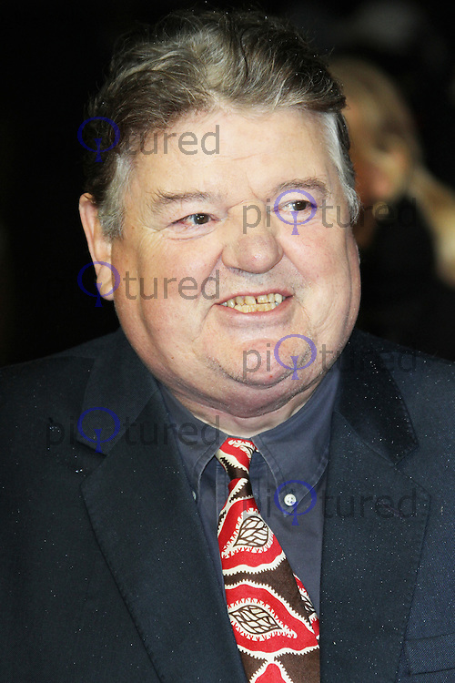 LONDON - OCTOBER 21: Robbie Coltrane attended the European Film Premiere of 'Great Expectations' at the Odeon Leicester Square, London, UK. October 21, 2012. (Photo by Richard Goldschmidt)