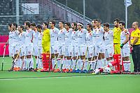 ANTWERP - BELFIUS EUROHOCKEY Championship  .  Spain v Wales (5-1).  line up team Spain. WSP/ KOEN SUYK