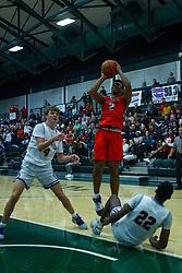 29 November 2019: Boys Basketball Normal Community Ironmen v Bloomington Raiders at Shirk Center in Bloomington IL (Photo by Alan Look)