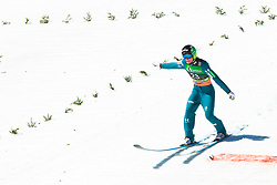 Domen Prevec (SLO) during the 2nd round of the Ski Flying Hill Individual Competition at Day 4 of FIS Ski Jumping World Cup Final 2019, on March 24, 2019 in Planica, Slovenia. Photo Peter Podobnik / Sportida
