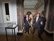 RUPERT MURDOCH; JERRY HALL, Royal Academy of Arts Summer Party. Burlington House, Piccadilly. London. 7June 2017