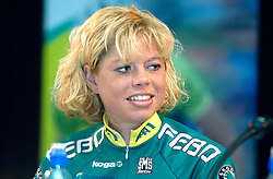 08-03-2006 WIELRENNEN: TEAMPRESENTATIE AA CYCLINGTEAM: ALPHEN AAN DE RIJN<br /> Theresa Senff<br /> Copyrights: WWW.FOTOHOOGENDOORN.NL