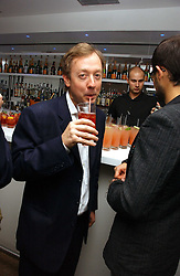 GEORDIE GRIEG at a party to celebrate the publication of Tatler's Little Black Book 2006 held at 24, 24 Kingley Street, London W1 on 9th November 2006.<br />