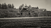 IL2M3 Sturmovik of the Flying Heritage Collection landing