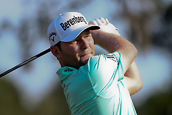 May 11, 2018 - Ponte Vedra Beach, Florida, United States - Branden Grace tees off the 9th hole during the second round of The PLAYERS Championship at TPC Sawgrass. (Credit Image: © Debby Wong via ZUMA Wire)