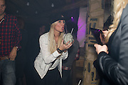 DENISE VAN OUTEN, The launch of Beaver Lodge in Chelsea, a cabin bar and dance saloon, 266 Fulham Rd. London. 4 December 2014