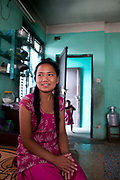 Kumari, 17. Kumari used to work in a carpet factory but was rescued by GWF. She now lives with her sister, who works in the factory below the flat and she attends school. The Nepal Good Weave Foundation work to get all children out of the carpet industry in Nepal.