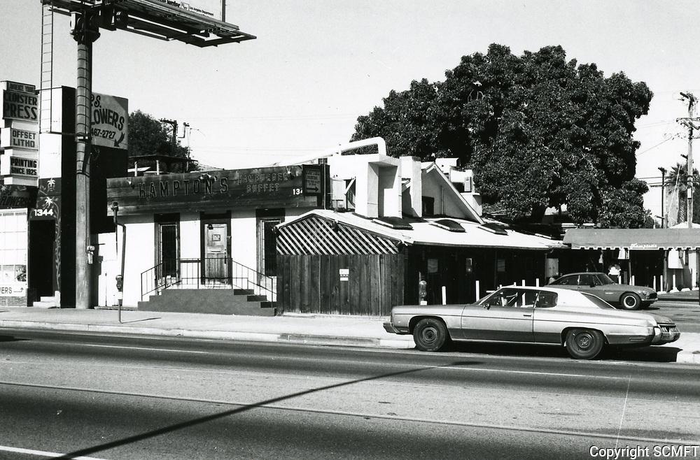 1987 Hampton's Restaurant on Highland Ave.