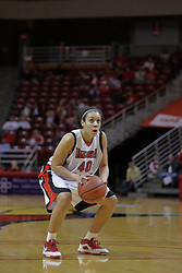 26 March 2009: Ashleen Bracey shoots for free. The Redbirds of Illinois State narrowly escape the talons of the Golden Eagles of Marquette during a Women's National Invitational sweet 16 game on Doug Collins Court inside Redbird Arena in Normal Illinois.