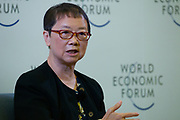 Chan Yuen-Ying, Honorary Professor, Technology-Enabled Learning Initiative, University of Hong Kong, Hong Kong SAR, China during the session: Enabling the Production Workforce of the Future at the World Economic Forum - Annual Meeting of the New Champions in Tianjin, People's Republic of China 2018.Copyright by World Economic Forum / Greg Beadle