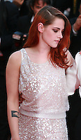 Actress Kristen Stewart at Sils Maria gala screening red carpet at the 67th Cannes Film Festival France. Friday 23rd May 2014 in Cannes Film Festival, France.