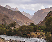 Exploring the borders of Kyrgyzstan and Turkmenistan