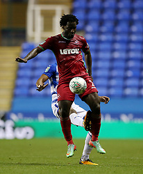 Swansea's Wilfried Bony during the Carabao Cup, third round match at the Madejski Stadium, Reading.