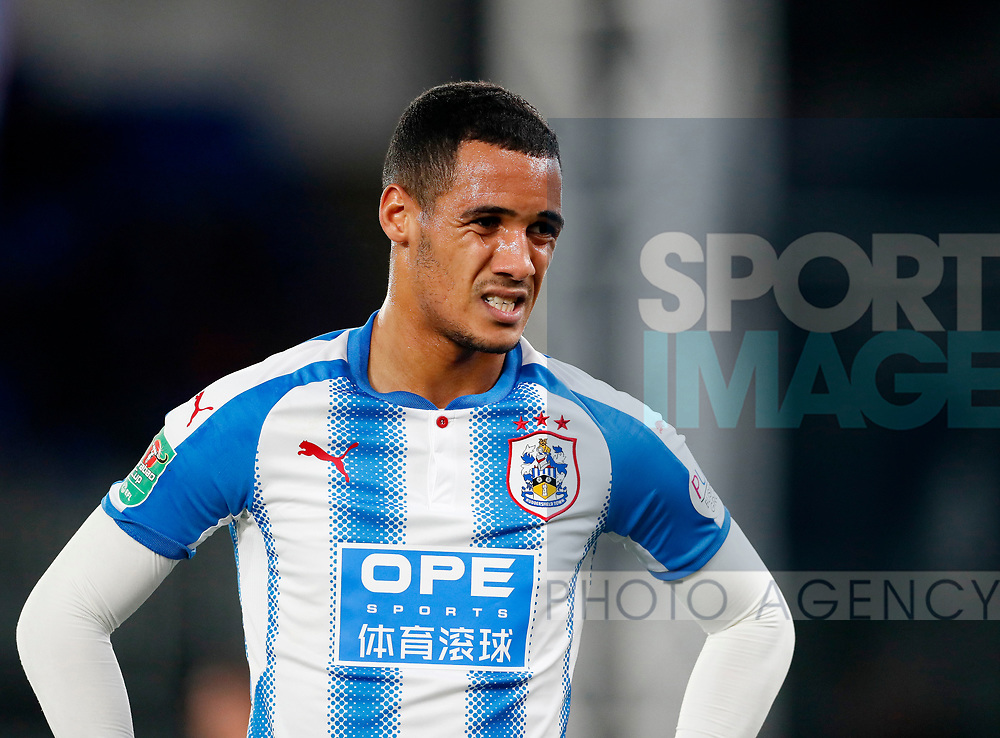 Huddersfield's Tom Ince looks on dejected during the Carabao cup match at Selhurst Park Stadium, London. Picture date 19th September 2017. Picture credit should read: David Klein/Sportimage