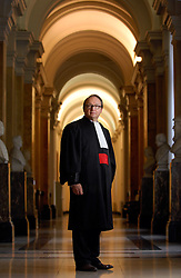 Ghislain Londers, Chief Justice of the Belgian Supreme Court. (Photo © Jock Fistick)