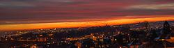 Dawn over Sheffield