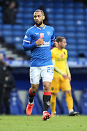 Midweek goal her, Kemar Roofe (Rangers), comes on as a second half substitute during the Scottish Premiership match between Rangers and Livingston at Ibrox, Glasgow, Scotland on 25 October 2020.