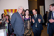 GERT-RUDOLPH FLICK; CORINNE FLICK;  DR. ACHIM BORCHARDT-HUME, Per Kirkeby Opening Reception and Dinner. Tate Modern. 16 June 2009.