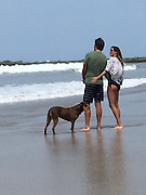 Mar 26, 2016 - Costa Rica  - **Exclusive**<br /> Gisele Bundchen is enjoying spending quality time with her daughter while on vacation.<br /> The Brazilian supermodel planted a sweet kiss on three-year-old Vivian as her NFL player husband Tom Brady looked on during their getaway in Costa Rica<br />  (Credit Image: © Exclusivepix Media)